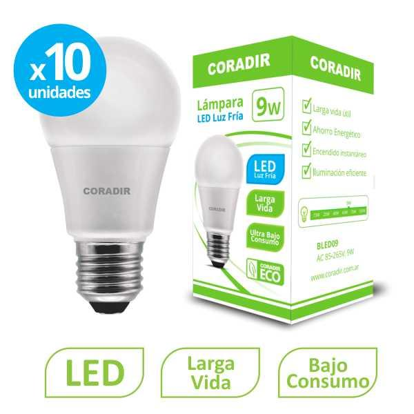 img_Pack x 10 unidades Lámpara Led BLED 9W