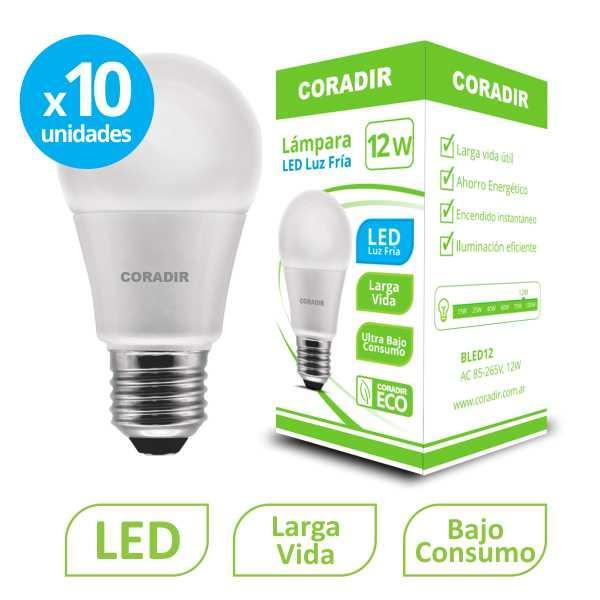 img_Pack x 10 Lámpara Led BLED 12W